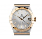Omega Constellation Co-Axial Stahl Gelbgold Automatik Armband Stahl Gelbgold 38mm UVP 7.300,- Bj.2013 orig.Box wie Neu