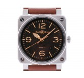 Bell & Ross Aviation Golden Heritage Stahl Automatik 42x42mm UVP 2.990,- Ungetragen