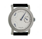 Schaumburg Watch Retrolateur Regulateur Handaufzug Doppelsekunde Kal. SW-07.9  42mm Neu