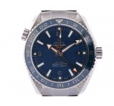 Omega Seamaster Planet Ocean 600m Co-Axial GMT Good Planet Foundation Stahl Automatik 44mm UVP 8.000,- Ungetragen