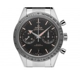 Omega Speedmaster '57 Co-Axial Stahl Automatik Chronograph Armband Stahl 41mm Box&Pap. Full Set Ungetragen mit Zertifikat über 7.300,-€