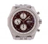 Breitling for Bentley GT Stahl Automatik Chronograph Stahlband 45mm Vintage Box&Pap. wie Neu Full Set