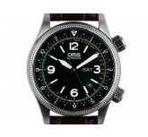 Oris Royal Flying Doctor Stahl Automatik Armband Leder Limitiert44mm UVP 1.680,- Box&Pap. Full Set wie Neu