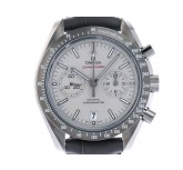 Omega Speedmaster Moonwatch Grey Side of the Moon Co-Axial Keramik Automatik Chronograph Armband Kroko 44mm Ungetragen mit Zertifikat über 10.200,-€