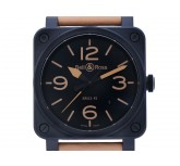 Bell & Ross Aviation Heritage BR 03-92 Keramik Automatik 42x42 mm UVP 3.200,- Ungetragen