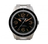 Bell & Ross BR123 Sport Heritage Stahl Automatik Stahlband 43mm UVP 2.400,- Ungetragen