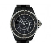 Chanel J 12 Ceramic Black Quarz 34mm UVP 3.900,- Ungetragen Box&Papiere