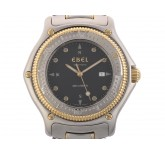Ebel Discovery Divers Stahl Gelbgold Automatik 38mm Vintage Bj.1997 Box&Pap.
