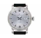 Chronoswiss Pacific Stahl Automatik Lederband 40mm UVP 2.950,- Box&Pap. Full Set wie Neu