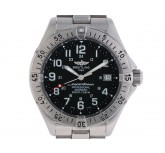 Breitling Superocean Stahl Automatik Stahlband 40mm Ref.A17345 Vintage Bj.2001 Box&Pap. Full Set