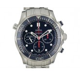 Omega Seamaster Diver 300m Co-Axial Chronograph Stahl Automatik 44mm UVP 4.500,- Ungetragen
