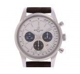 Breitling Transocean Stahl Automatik Chronograph 43mm UVP 7.010,- Box&Pap.