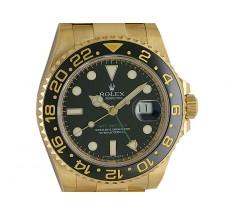 Rolex GMT Master II 40mm 18kt Gelbgold