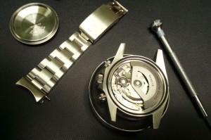 Tudor Uhr geöffnet