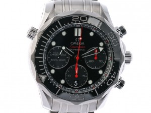 Omega Seamaster Diver 300m Co-Axial Chronograph Stahl