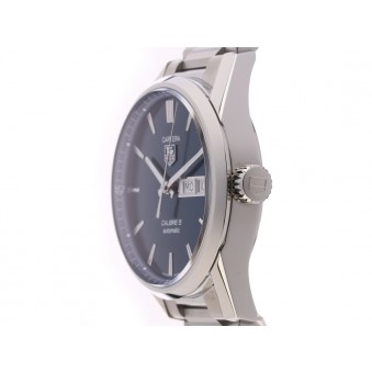 Tag Heuer Carrera Calibre 5 Day Date Stahl Automatik Stahlband 41mm- UVP 2.350,- Ungetragen