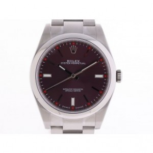 Rolex Oyster Perpetual Stahl Automatik Oyster Armband 39mm