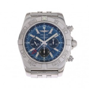 Breitling Chronomat GMT Chronograph Stahl Automatik Stahlband 47mm