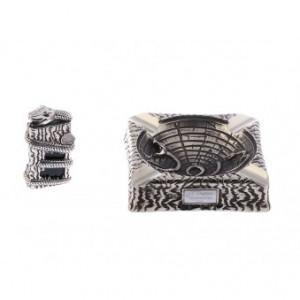 S.T. Dupont Snake Feuerzeug + Aschenbecher im Set Bronze Limited Edition