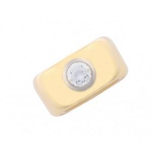 Ring Band Gelbgold Solitär Diamond 1,5ct