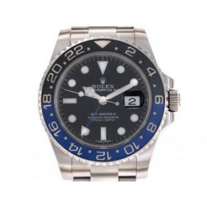 Rolex GMT Master II blau schwarz Stahl Keramik Automatik 40mm