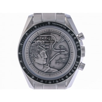 Omega Speedmaster Moonwatch Anniversary Stahl