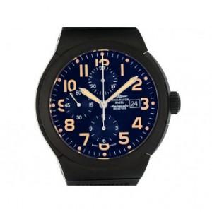 Zeno Watch Basel Automatik Chronograph Titan PVD 46mm