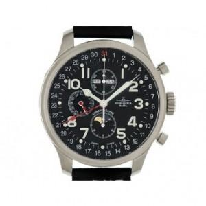 Zeno Watch Basel Chronograph Vollkalender Mondphase 47mm