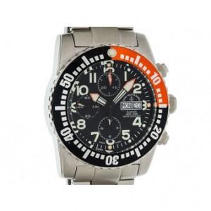 Zeno Watch Basel Airplane Automatik Chronograph Day Date 45mm