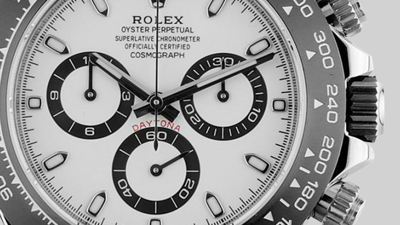 Rolex Daytona Cosmograph, schwarz-weiß