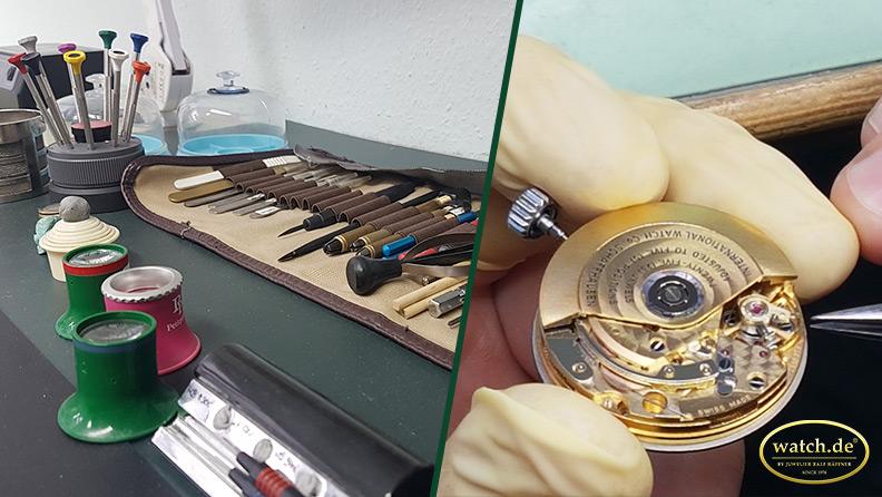 Umgang mit Vintage-Uhren