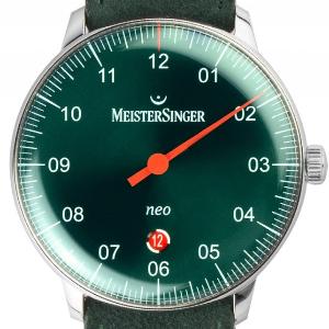 Meistersinger Neo Plus Einzeigeruhr