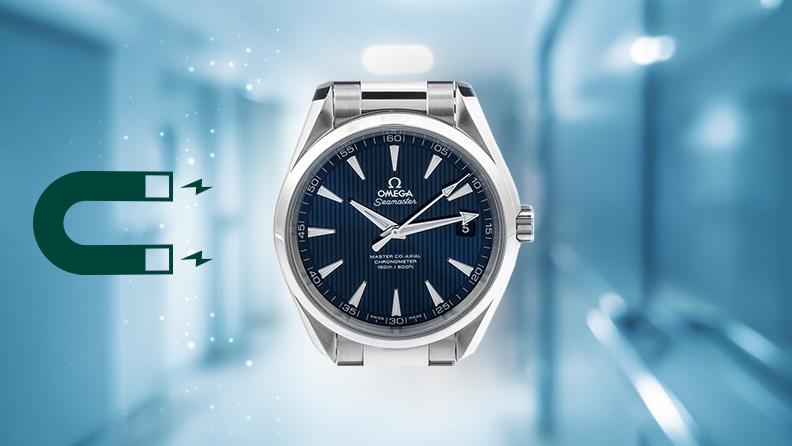 Omega Uhren Magnetfeldschutz