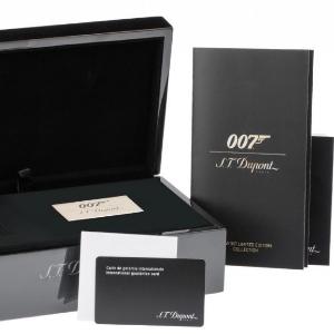 S.T. Dupont Feuerzeug Verpackung James Bond
