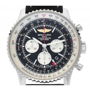 Breitling Navitimer GMT Stahl Automatik Chronograph
