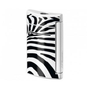 S.T. Dupont Feuerzeug MINIJET im Zebra-Design