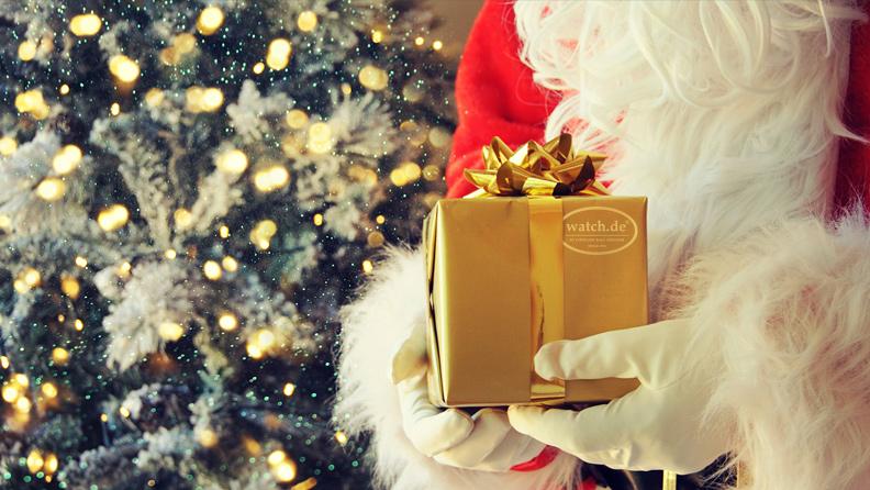 Last Minute Weihnachtsgeschenke auf watch.de