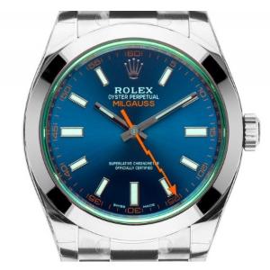 Rolex Oyster Perpetual Milgauss Elektroblau, SOFORT lieferbar