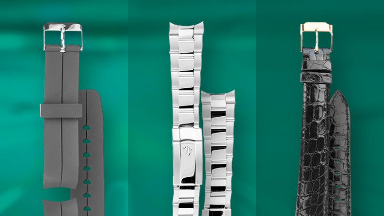 Pflege von Armbändern aus Leder, Metall und Kautschuk für Uhren