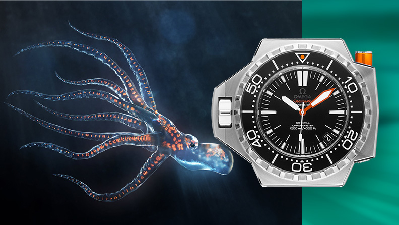 Omega Seamaster für Tiefsee-Entdecker