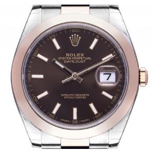 Damenuhr Roségold: Rolex Datejust 41 Stahl Roségold