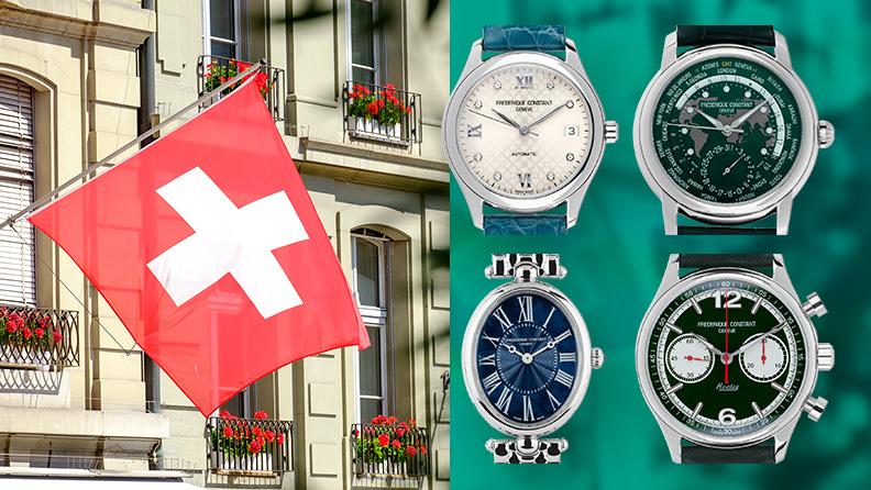 Frederique Constant Uhren jetzt neu auf watch.de