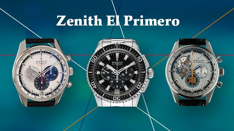 Zenith El Primero - Ein Chronographenwerk wird 50