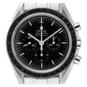 Omega Speedmaster Professional Moonwatch Stahl Handaufzug Chronograph