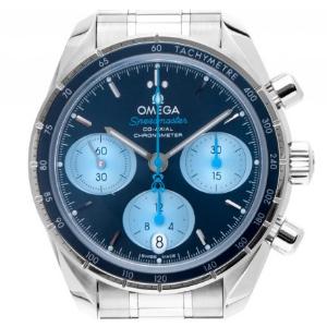 Omega Speedmaster Orbis Co-Axial Stahl Automatik Chronograph
