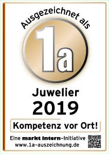 1a Auszeichnung Juwelier Ralf Häffner