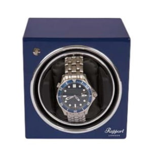 Rapport Evocube Single Watch Winder Blau