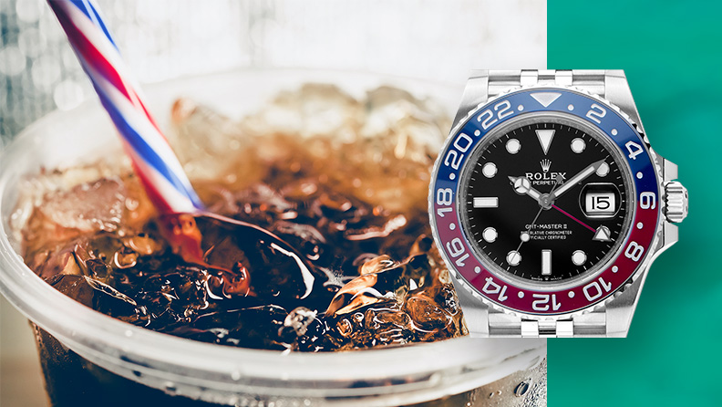 Rolex GMT Master Pepsi auf watch.de