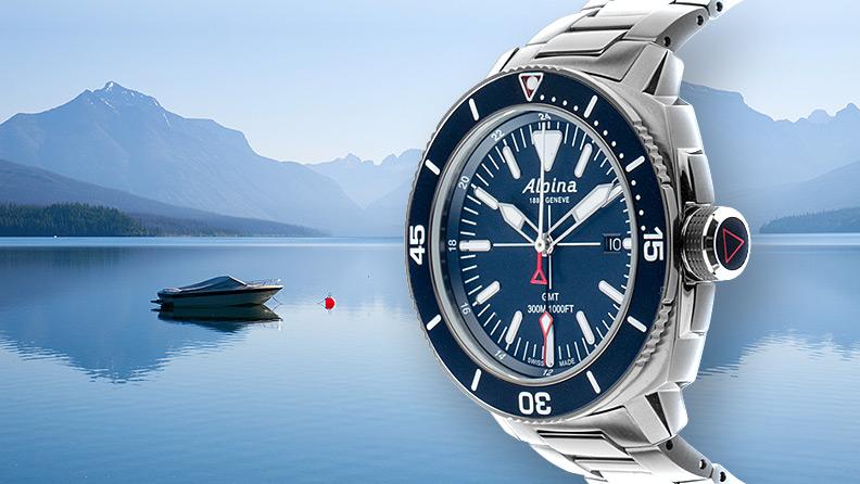 Alpina Uhren Taucheruhr