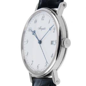 Flache Uhren, Breguet Classique 18kt Weißgold Automatik, Seitenansicht